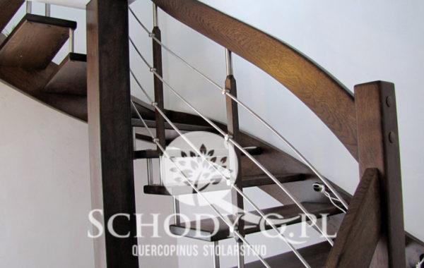 Schody Q – Bolcowe dębowe Łódź