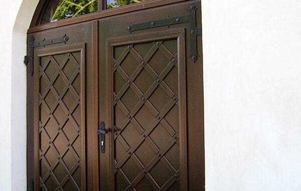 Drzwi Q – zewnętrzne Dębowe – Kościół Działyń